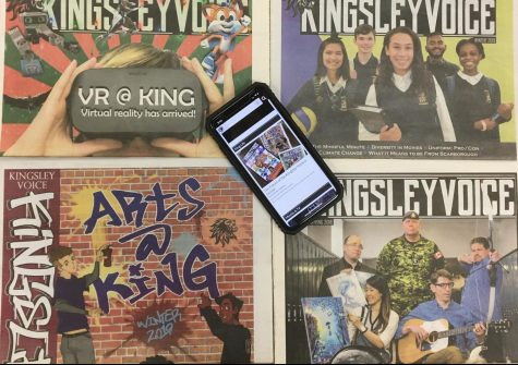 The Kingsley Voice is now online! But you already know that if you