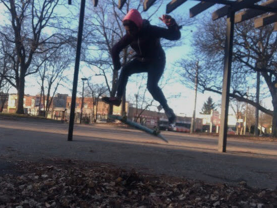 Trick skateboarding as a woman and a person of colour
